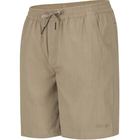 Marmot Allomare Spodnie krótkie Mężczyźni brązowy